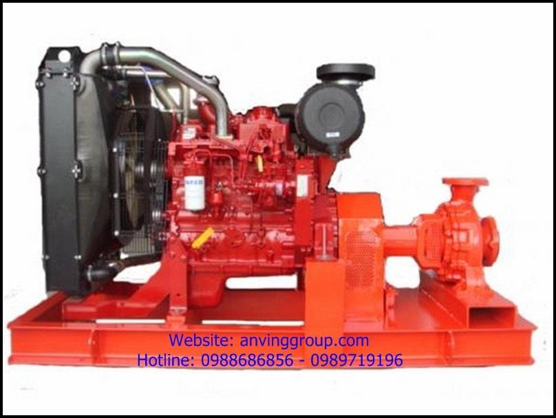 Máy bơm cứu hỏa động cơ Diesel của hãng Versar